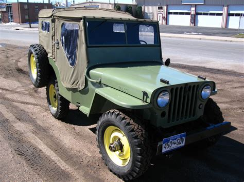 Jeep Cj2a For Sale 1946 Willys Willys Overland Cj2a For Sale