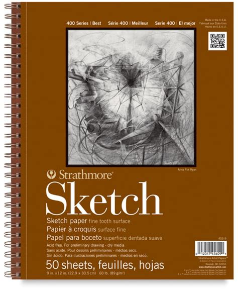 sketchbook pad strathmore 400 series sketch pads blick materials