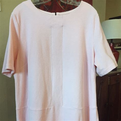 73 tops sweet pink sleeve blouse size 16w