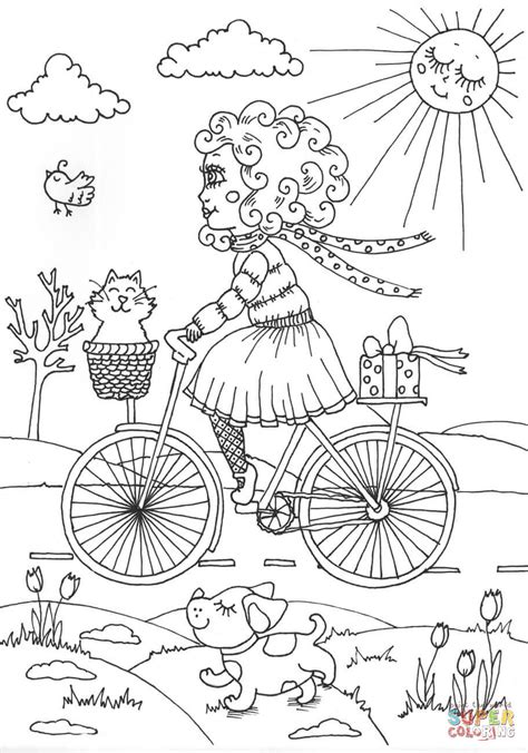 august reverie coloring book books peppy in august coloring books coloringpagesonly
