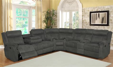 best reclining sectional sofa reclining leather sofa set doherty house best choices