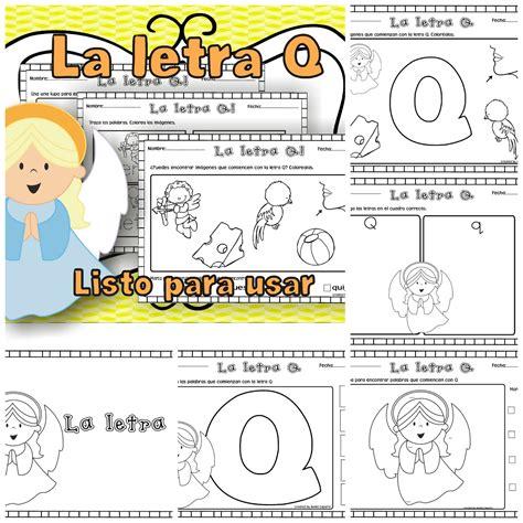 imagenes en ingles con la letra q de los tales la letra q
