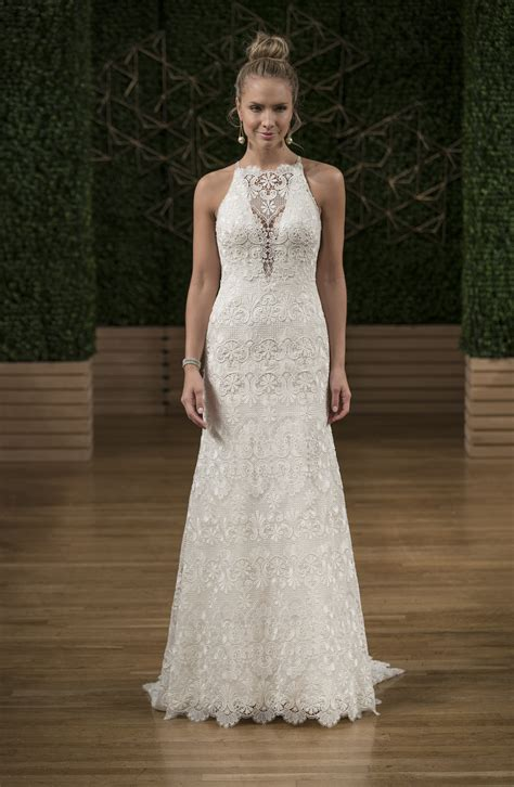 Wedding Dress Sottero by Sottero And Midgley High Illusion Neckline Lace A Line