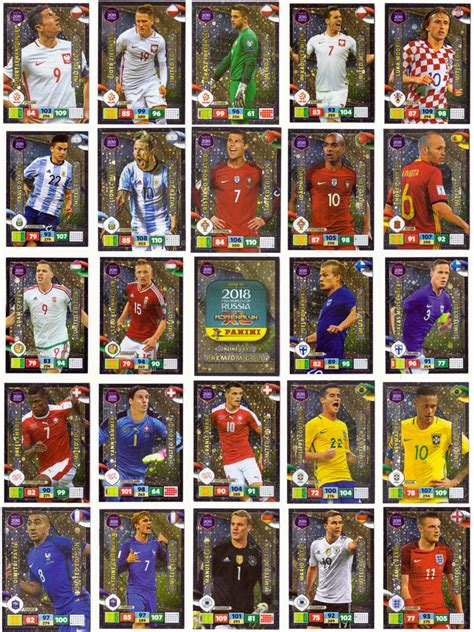 best photo cards for 2018 photo card reviews panini road to world cup 2018 russia limited edition cards ebay