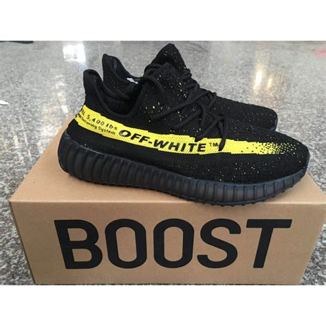 Sepatu Yeezzy Boots Sply 350 adidas yeezy boost sply 350 v2 white black yellow shoes