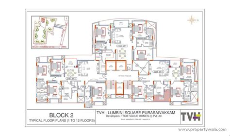 Room Layout Drawing tvh lumbini square purasavakkam chennai residential