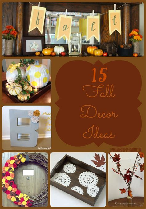simple fall decorating ideas easy fall decor ideas with tutorials and directions