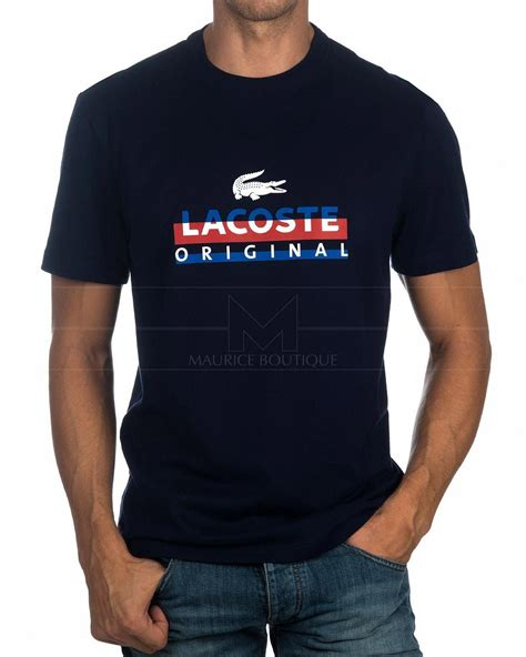Lettering Print T Shirt lacoste 169 t shirts lettering print best price polo