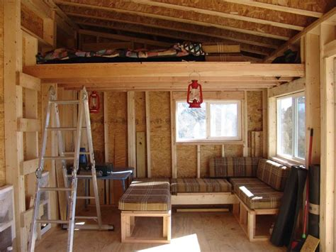 Studio Organization Ideas by 10x14 Modern Shed Small Cabin Forum 1