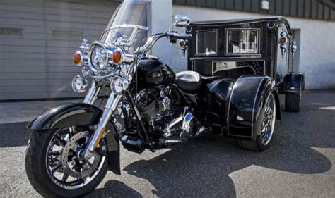 harley davidson hearse funeral home launches of its