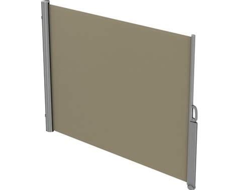Sichtschutz Fenster Hornbach by Seitenmarkise 1 6x3 Stoff Uni Beige Mit Abnehmbarem