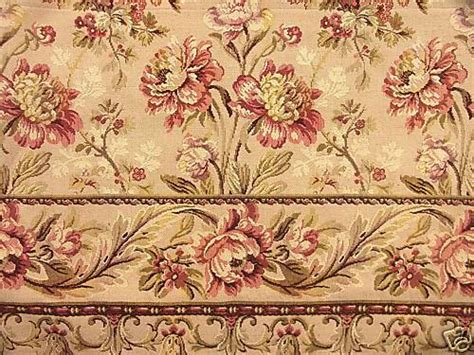 vintage tapestry upholstery fabric antique french tapestry panel fabric floral vintage