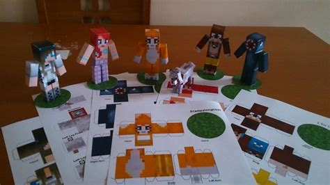 And Friends Papercraft - sty friends papercraft as seen on minecraft you