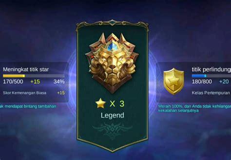 pangkat mobile legend daftar urutan rank mobile legends terlengkap jalantikus
