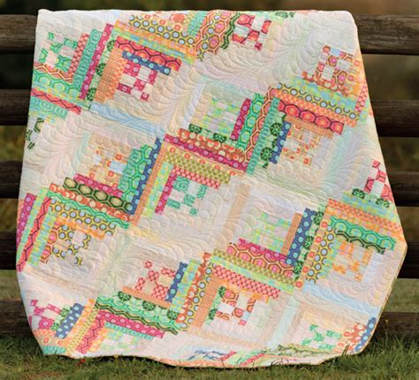 Quilting Frolic by How To Make A Scrap Quilt With No Scraps Giveaway