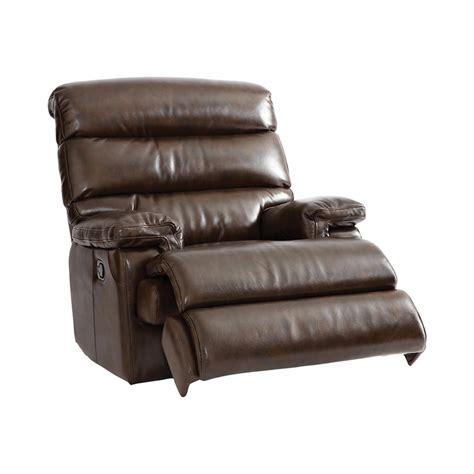bassett leather recliner bassett 3770 9ls garron glider recliner discount furniture