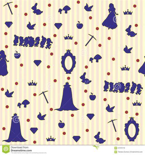 snow white pattern free illustration snow white pattern stock illustration