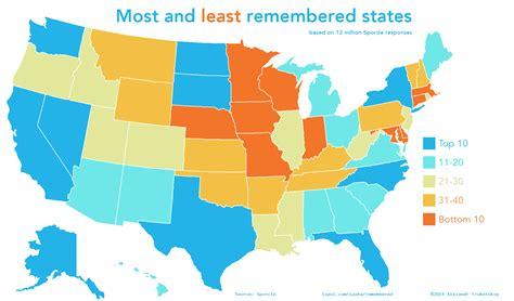 Funny U.S. Maps: 19 Hilariously Revealing Maps of America