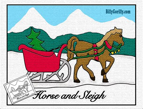 coloring page one horse open sleigh sleigh clipart one horse open sleigh pencil and in color