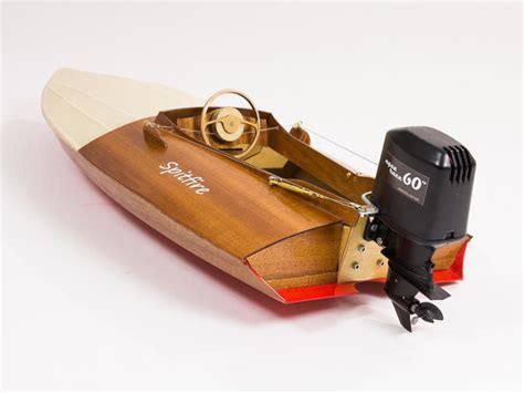 build your own rc boat kits aeronaut spitfire vintage outboard racing boat model boat