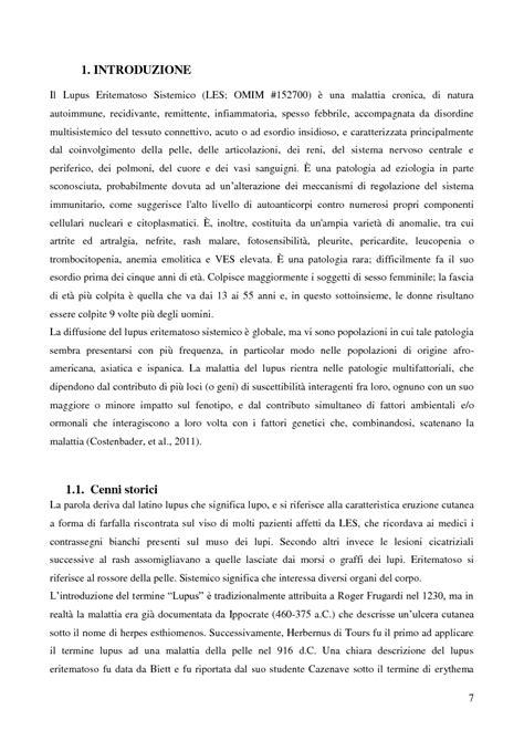 dissertation abstract sle studio multigenico sulla malattia lupus eritematoso