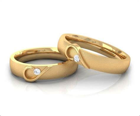 golden couple have big hearts 50 engagement rings for couples made for each other