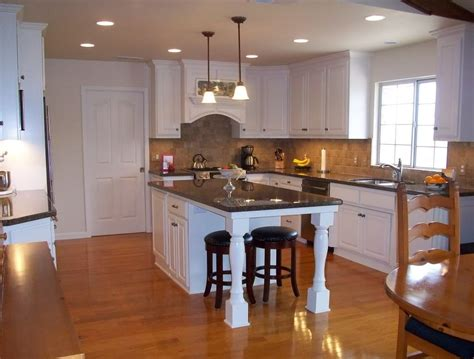 kitchen island with cabinets and seating home design