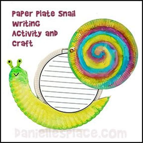 Snail Paper Plate Craft - pin by wadkins on work
