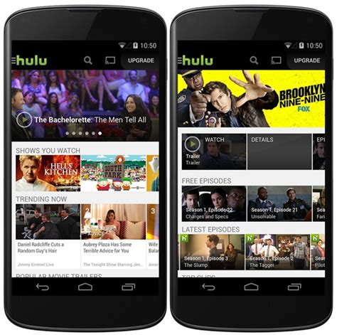 hulu for android hulu plus app updated for android users with more free shows