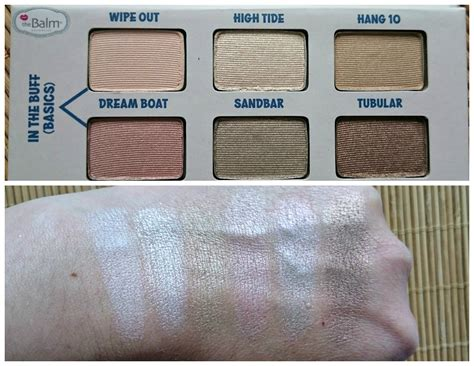 The Balm Balmsai Pallette the balm balmsai eyeshadow and brow palette review and swatches mummy s corner