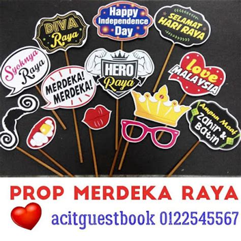 photo booth props printable malaysia prop photobooth merdeka raya online order malaysia