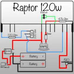 raptor 120 watt wiring diagram wiring diagram website