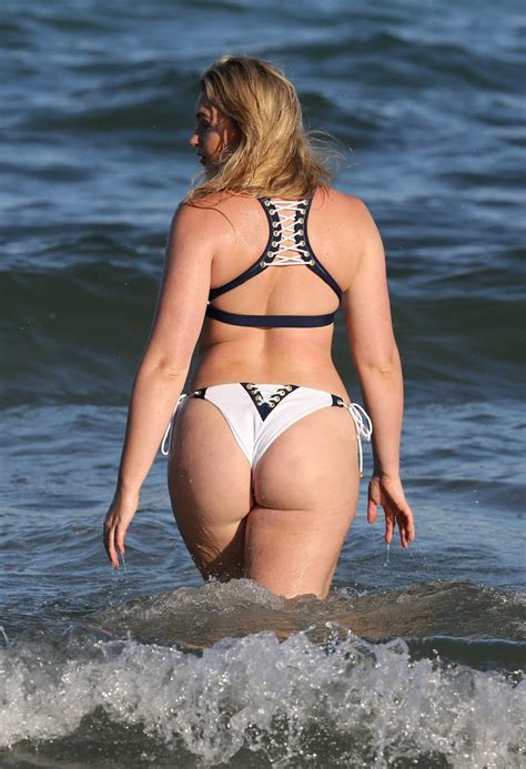 Iskra Lawrence Bikini Photoshoot Candids In Miami Adanih Com