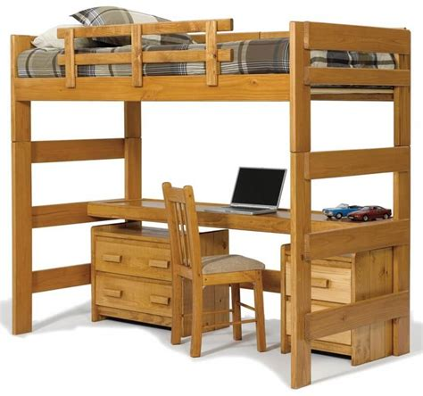 bunk loft with desk 25 awesome bunk beds with desks perfect for kids