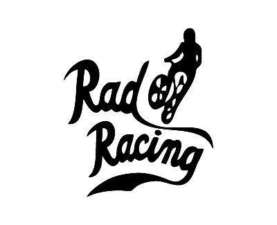 rad logo vinyl decal sticker car bmx bike cult  dvd