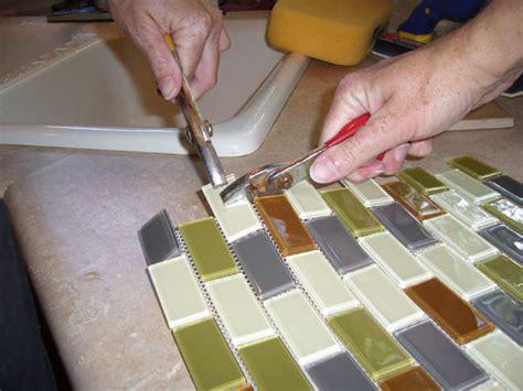 cutting glass tile backsplash how to cut glass backsplash backsplashes