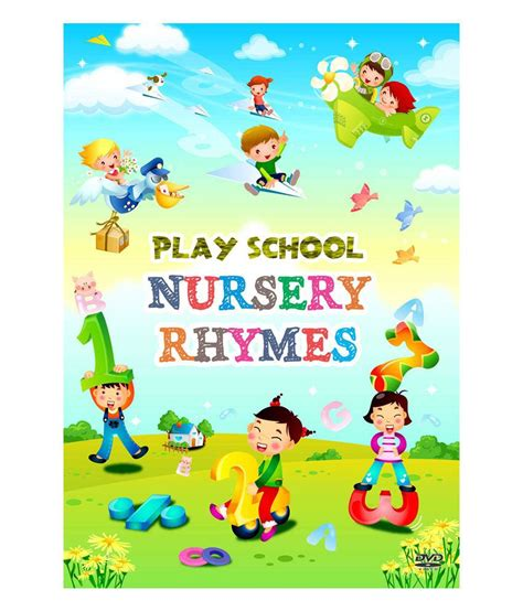 Snapdeal Home Decor by Play Nursery Rhymes English Dvd Buy Online At