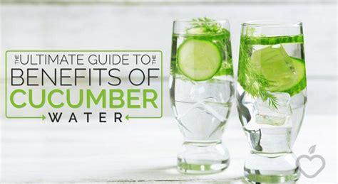Benefits Of Detox Water Lemon Mint Cucumber by Lemon Cucumber Water Benefits
