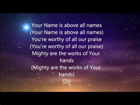 printable lyrics to nobody greater vashawn medley vashawn mitchell unstoppable lyrics