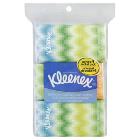 Tissue Paseo Travel Tissue Mini Travel Pack 50 S kleenex tissues pocket pack 3 pack