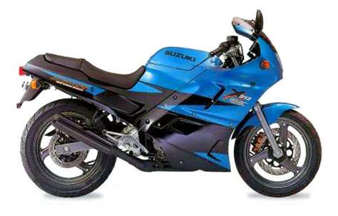 Suzuki Across 250 Answers Original Service Manual For A 1996 Suzuki