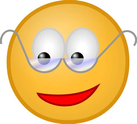 smiley clipart smiley with glasses clip at clker vector clip