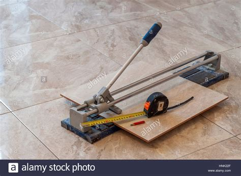 ceramic tiles and tools for tiler floor tiles installation home stock photo royalty free