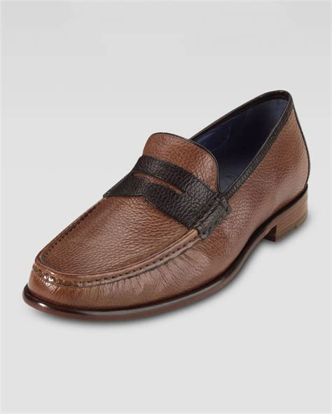 cole haan aiden loafer cole haan air aiden twotone loafer in brown for
