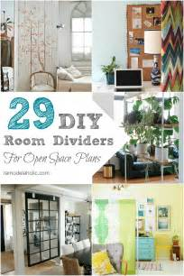 Diy Rooms remodelaholic 29 creative diy room dividers for open