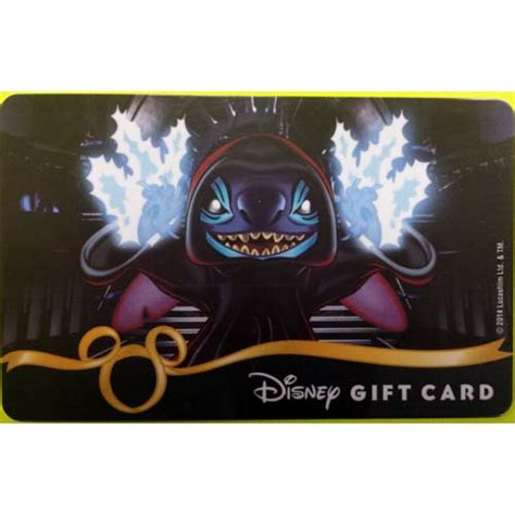 Star Wars Gift Cards - your wdw store disney collectible gift card star wars 2014 emperor sith lord stitch
