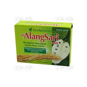Sidomuncul Alang Sari by Jual Beli Alangsari Plus Sirsak Sach 6s K24klik