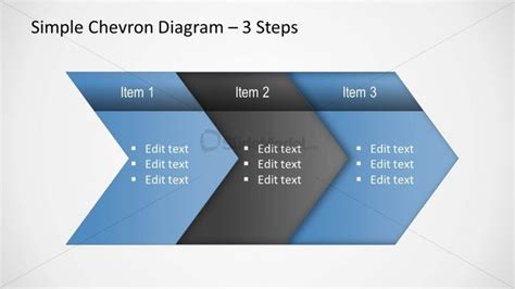 powerpoint chevron template chevron diagram 2 slidemodel