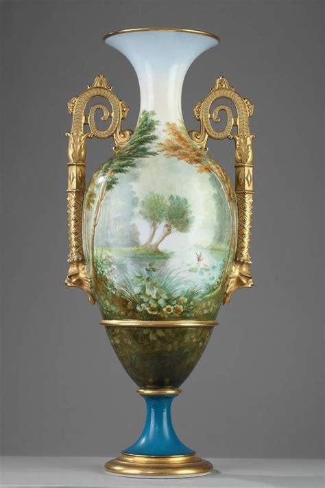large 19th century limoges porcelain vase at 1stdibs