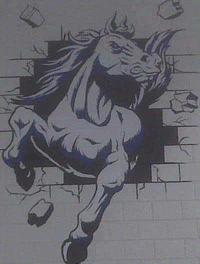 basanno broncos high school mural bassano alberta